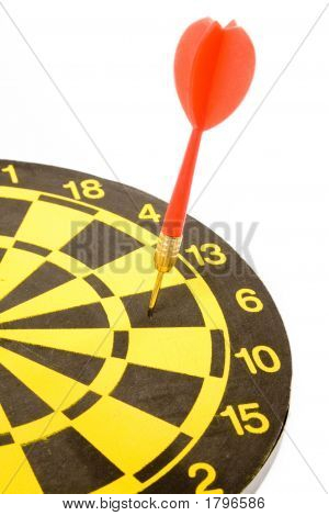 A Dart On A Dartboard