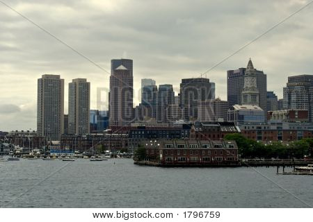 Seaport Of Boston Harbor