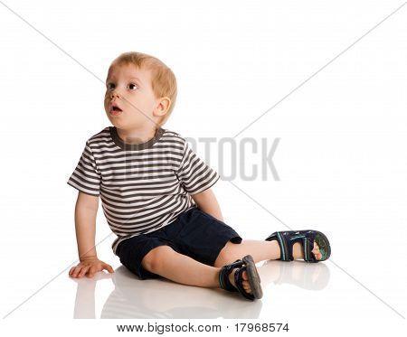 Menino de dois anos
