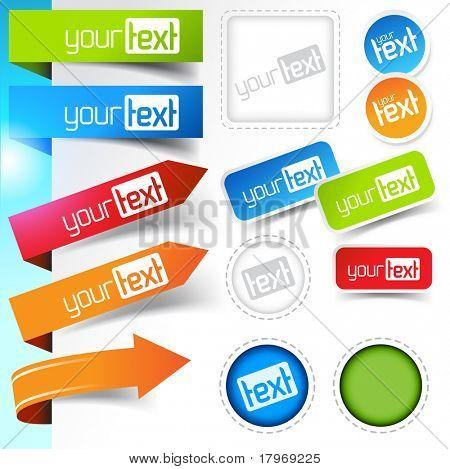 Diseños de etiqueta Página Web