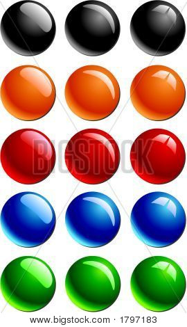Glossy Buttons.Eps