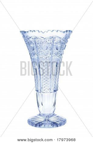 Antique vase - cut glass