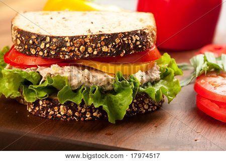 Tuna Sald Sandwich