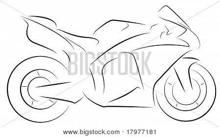 Supersport motor