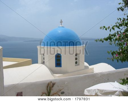 Greek Island Chapel Greece