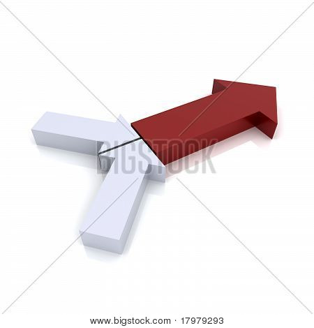 Transformation Red Symbol