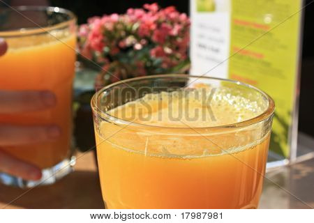freshly poured