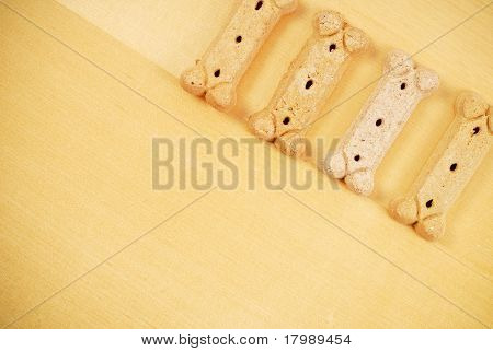 Dog Bone Puppy Treats Background