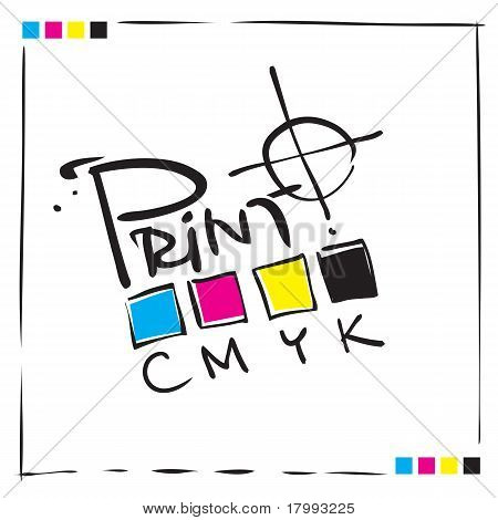 CMYK Print Concept Design