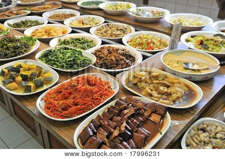 Vegetarian Buffet Meal