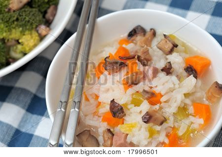 Healthy Vegetable Porridge