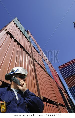 engineer and containers