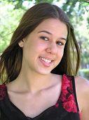 Smiling Mixed-race Girl