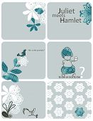 picture of hamlet  - Vector Little Juliet meets Hamlet  - JPG