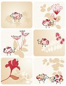 Vector Baby Sheep Pink (Graphics Set)