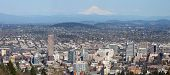picture of portland oregon  - City of Portland and surrounding areas with Mt - JPG