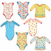 foto of babygro  - Baby clothes set for boy and girl - JPG