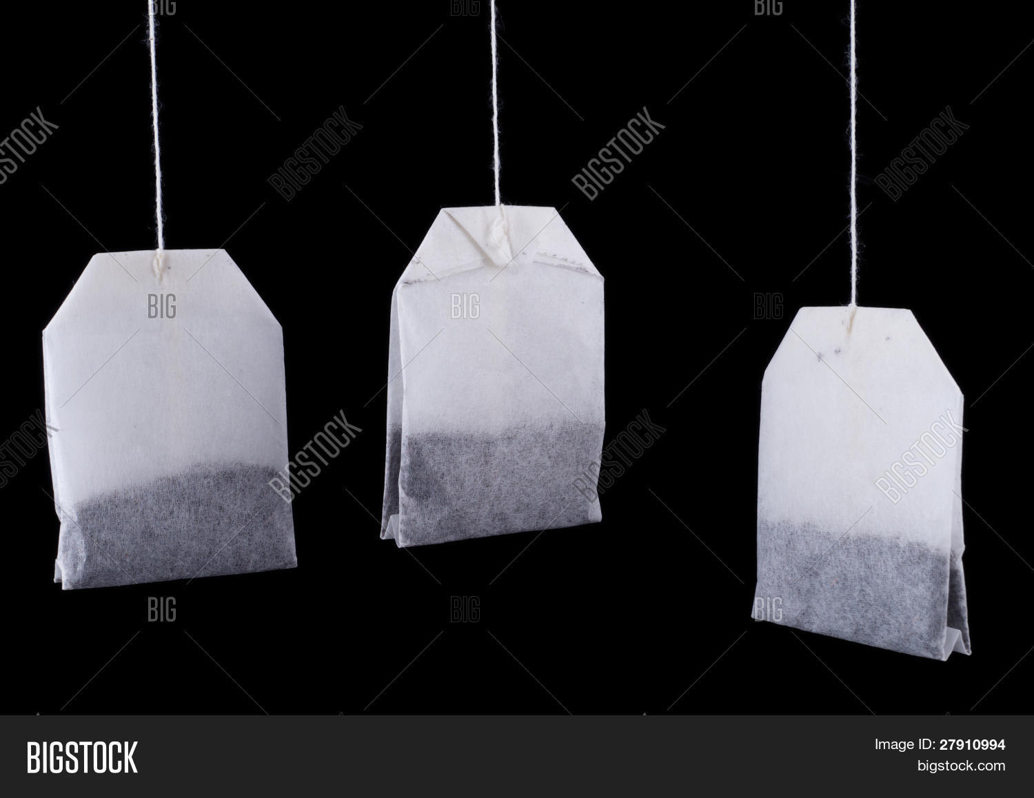Hanging Tea Bags Image & Photo | Bigstock