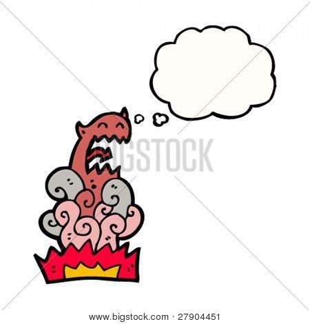 hellish apparition cartoon