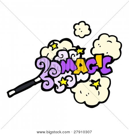magic wand cartoon