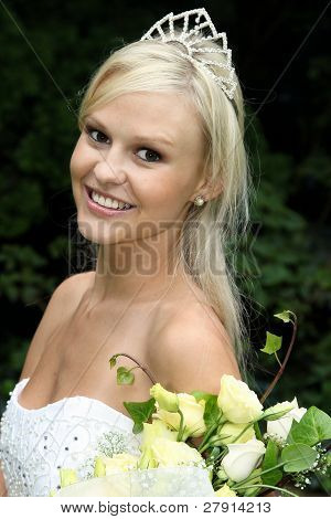 Gorgeous Smiling Bride