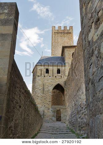 Carcassonne, Frankreich, Unesco. Burg