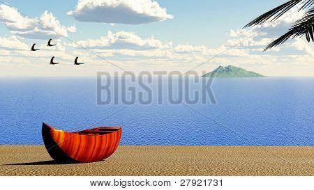 beach 3d