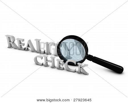 Verificação da realidade