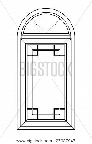 Planimetric Arch Window 2