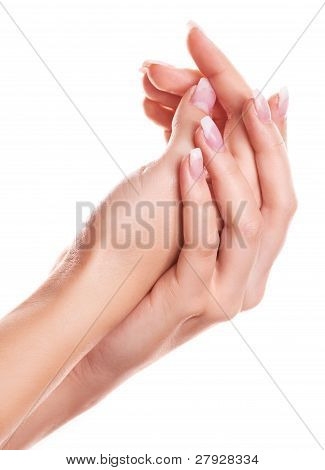 Hands Of A Woman