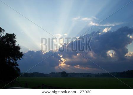 Streaking Sun
