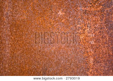 Iron Sheet With Rust