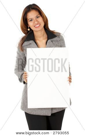 Business Woman - Banner Add