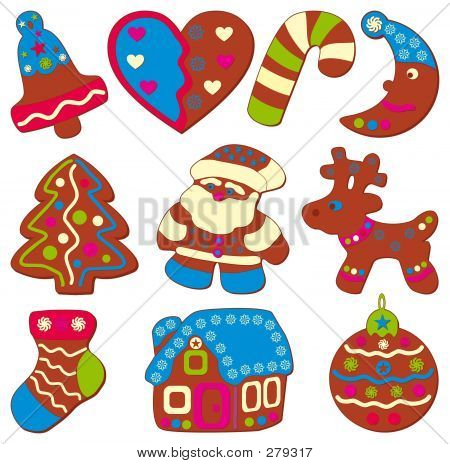 Celebratory Or Christmas Cookies