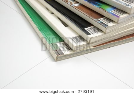 Bunte Hochglanzmagazinen