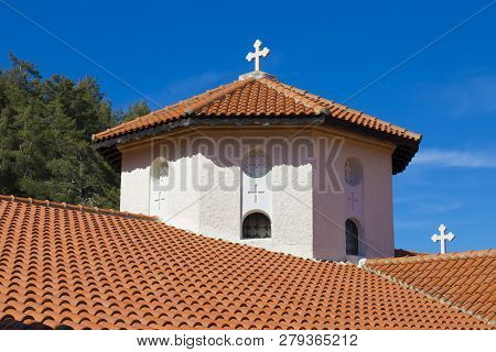 Church Stone Dome With A