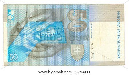 50 Koruna Bill Of Slovakia, 2002