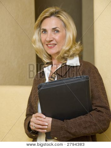 Mature And Confident Business Woman