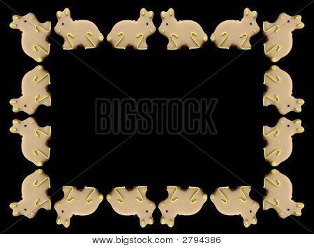 Easter Bunnies Frame