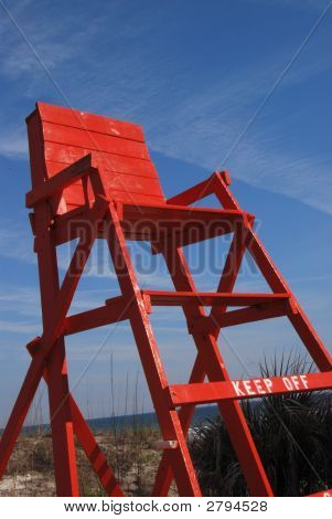 Lifeguard Chair Vertical