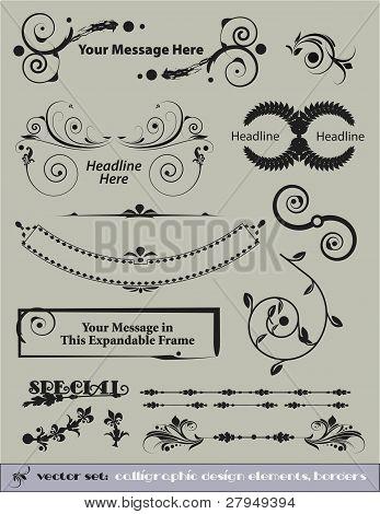 Decorative Vector Set