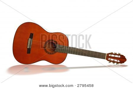 Guitar With Reflection