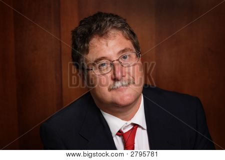 Middle Aged Businessman