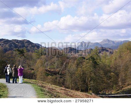 Towards the Langdales