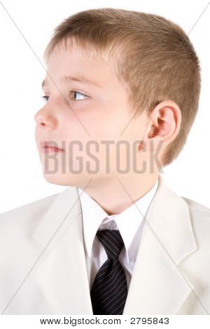 Well-Dressed Young Businessman