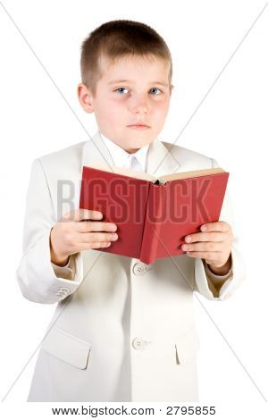 Well-Dressed Boy Read Book