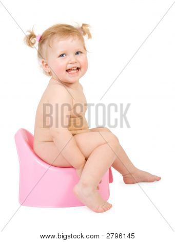 Pretty Baby And Pink Potty