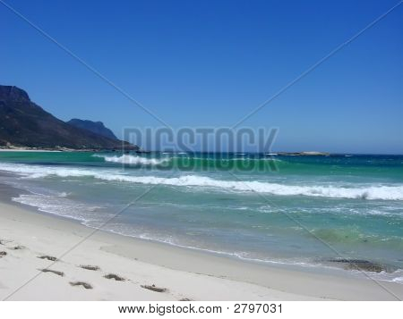 Footprints In The Sand, Cape Town Beach