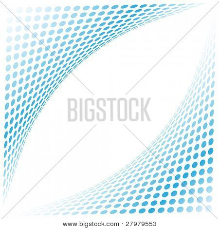 Abstract background. Blue set. Simply change.