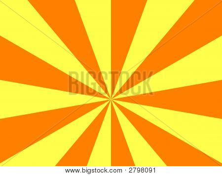 Orange And Yellow Striped Background